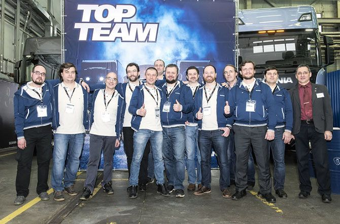 Scania Top Team 2018