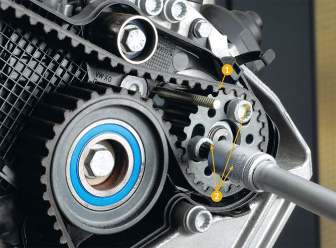 6 - Тест ремней грм за рулем