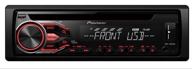 Pioneer представляет новое поколение магнитол формата 1DIN