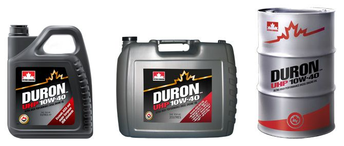 Duron UHP 10W-40 (LOW SAPS).
